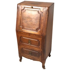 Diminutive Italian Two-Drawer Drop Front Cabinet
