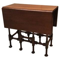 Diminutive Mahogany Gates Leg Side Table, circa 1900