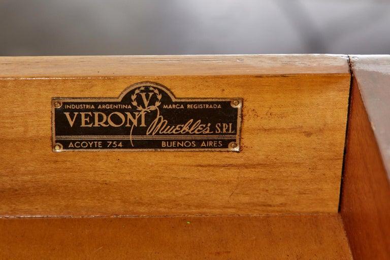 Diminutive Maison Jansen Mahogany Bronze Mounted Writing Desk For Sale 8