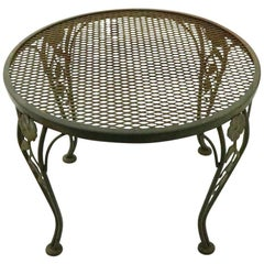 Diminutive Outdoor Patio Garden Table by Woodard