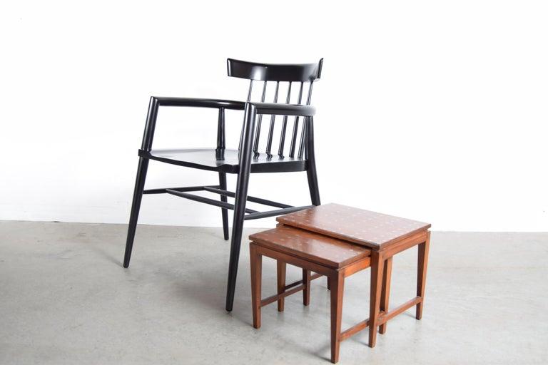 Diminutive Set of Nesting Tables by Leela Shiveshwarkar For Sale 2