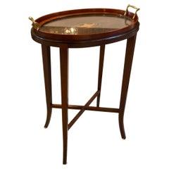 Diminutive Tray Top Side Table, Circa 1900
