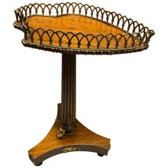 Diminutive William IV Heart Shaped Gallery Side Table