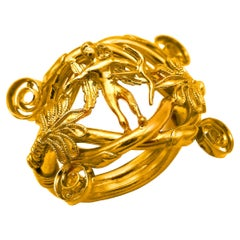 Greek Revival Rings