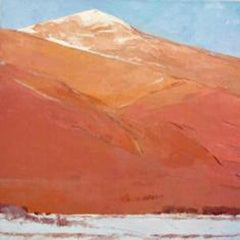 The Glow of the Sangres (Landscape, Still Life, Coors, Oil)