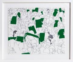 Fragile Springs, Pop Art Screenprint