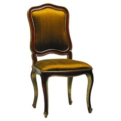 Dining Antique Venetian Chair with Cabriole Legs