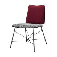 Dining Chair Black Nickel Stainless Steel Legs