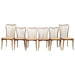 Dining Chair by Joaquim Tenreiro 'Set of 6'