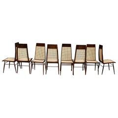 Dining Chair by Joaquim Tenreiro 'Set of 8'