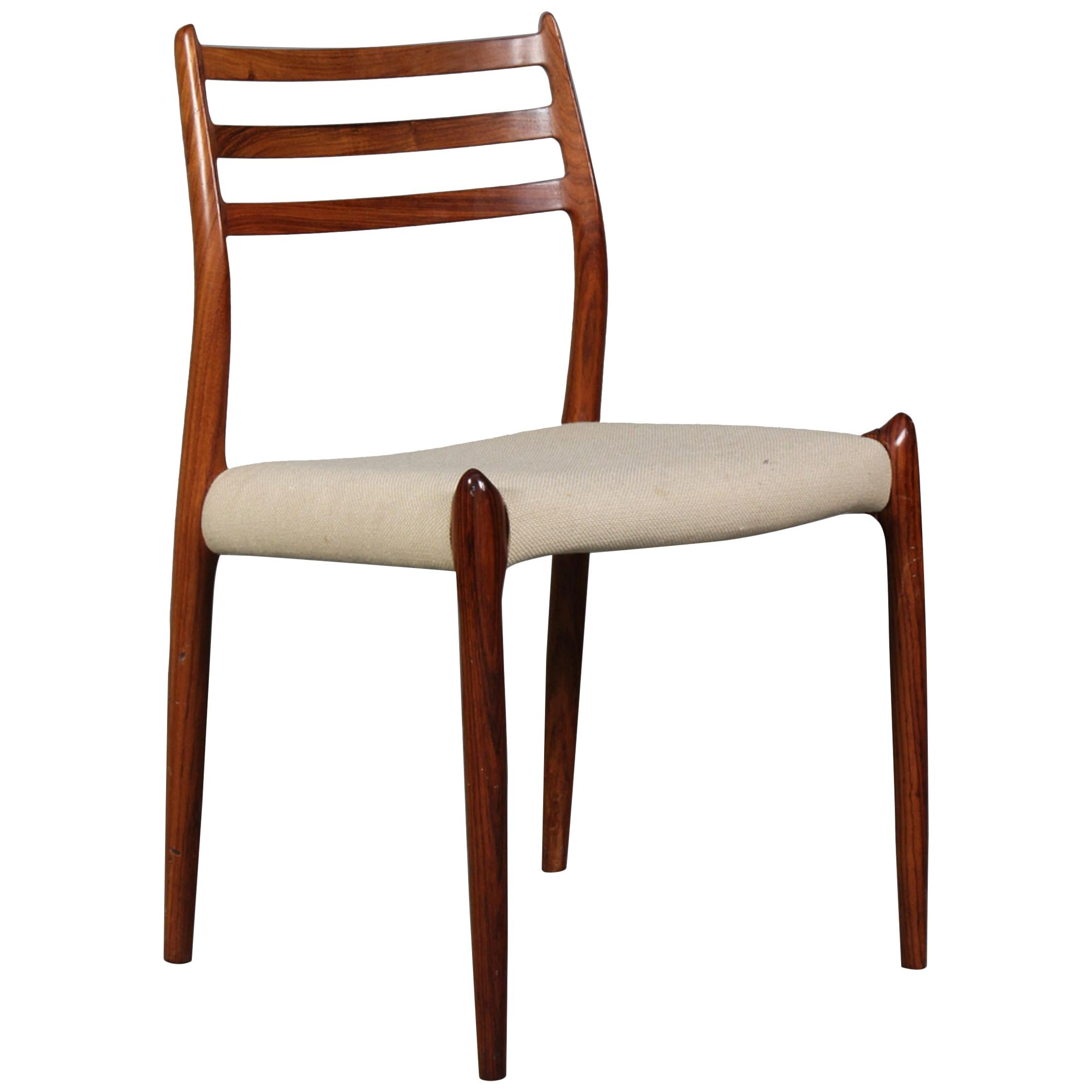 Dining Chair by Niels Otto Møller Model 78