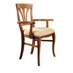 Dining Chair with Armrests #3