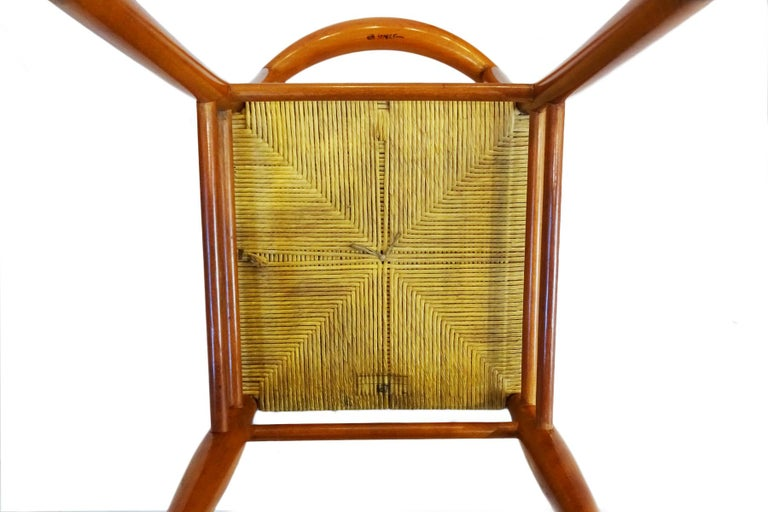 Dining Chairs - 6 Philippe Starck Aleph Tessa Nature Chairs for Driade In Good Condition For Sale In Highclere, Newbury