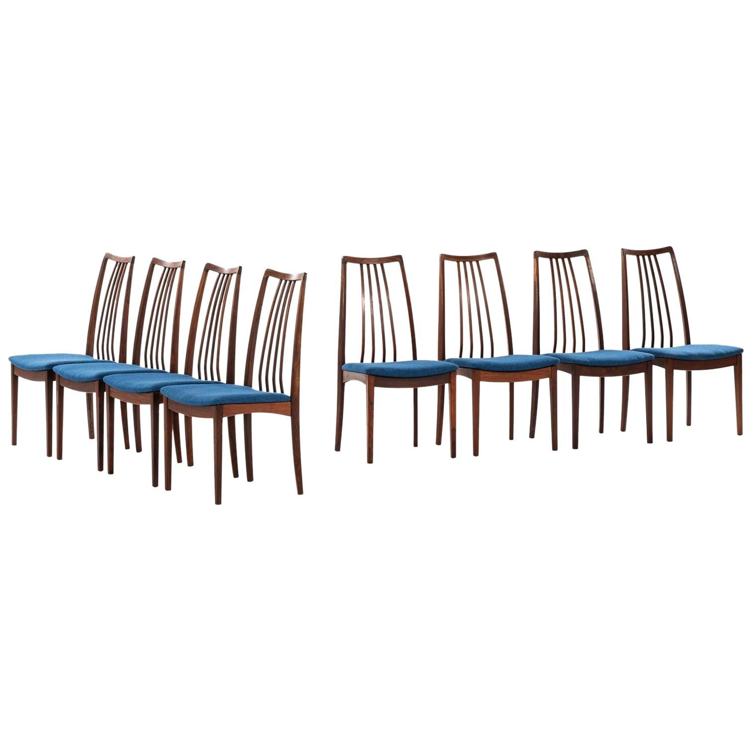 Dining Chairs Attributed to Niels Kofoed Produced in Denmark