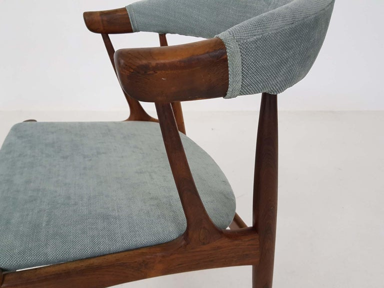 20th Century Dining Chairs BA113 by Johannes Andersen for Andersens Møbelfabrik, Denmark 1969 For Sale