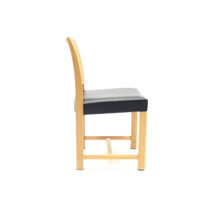 Dining Chairs by Carl Gustaf Hiort Af Ornäs for Mikko Nupponen, 1950s, Set of 4 For Sale 3