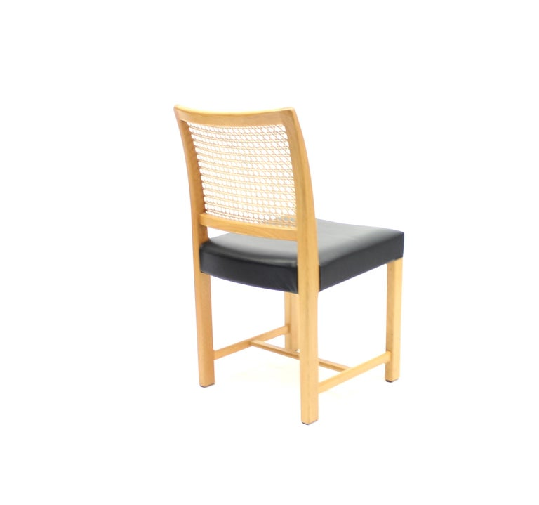 Dining Chairs by Carl Gustaf Hiort Af Ornäs for Mikko Nupponen, 1950s, Set of 4 For Sale 4