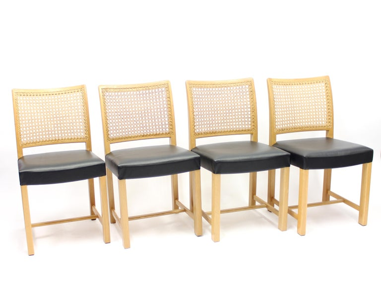 Finnish Dining Chairs by Carl Gustaf Hiort Af Ornäs for Mikko Nupponen, 1950s, Set of 4 For Sale