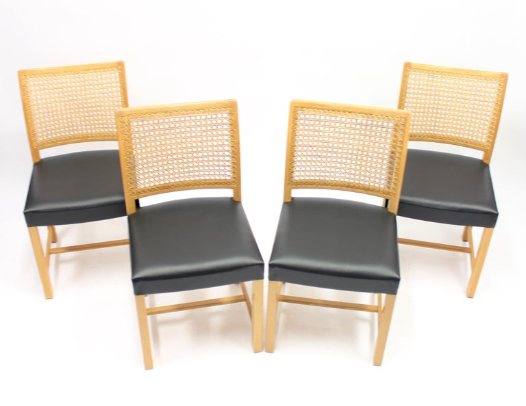 Mid-20th Century Dining Chairs by Carl Gustaf Hiort Af Ornäs for Mikko Nupponen, 1950s, Set of 4 For Sale