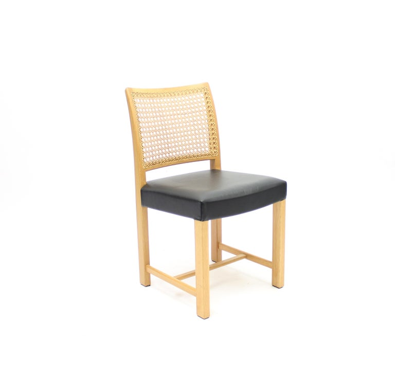 Dining Chairs by Carl Gustaf Hiort Af Ornäs for Mikko Nupponen, 1950s, Set of 4 For Sale 1