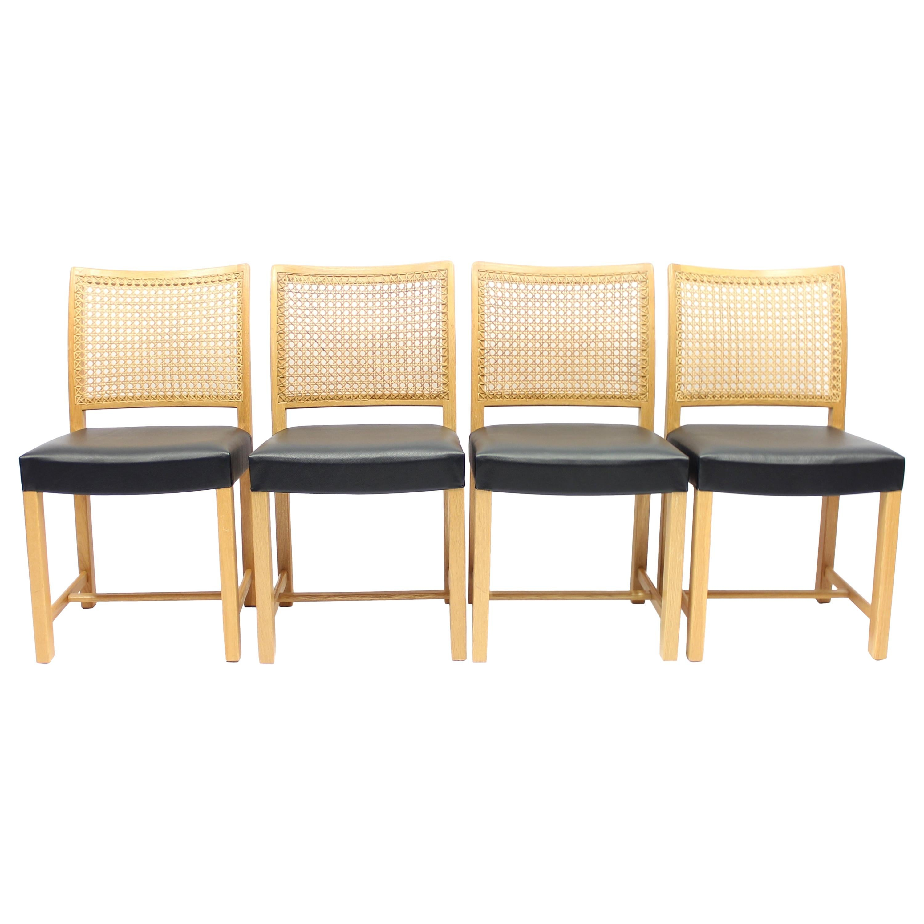 Dining Chairs by Carl Gustaf Hiort Af Ornäs for Mikko Nupponen, 1950s, Set of 4