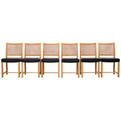 Dining Chairs by Carl Gustaf Hiort Af Ornäs for Mikko Nupponen, 1950s, Set of 6
