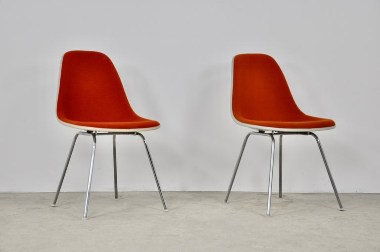 Mid-Century Modern Dining Chairs by Charles and Ray Eames for Herman Miller, 1960S For Sale