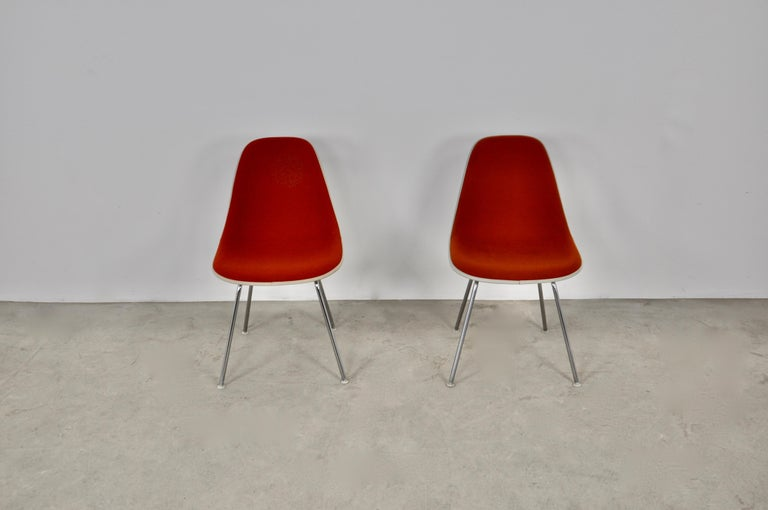 Dining Chairs by Charles and Ray Eames for Herman Miller, 1960S In Good Condition For Sale In Lasne, BE
