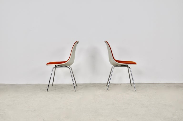 Late 20th Century Dining Chairs by Charles and Ray Eames for Herman Miller, 1960S For Sale