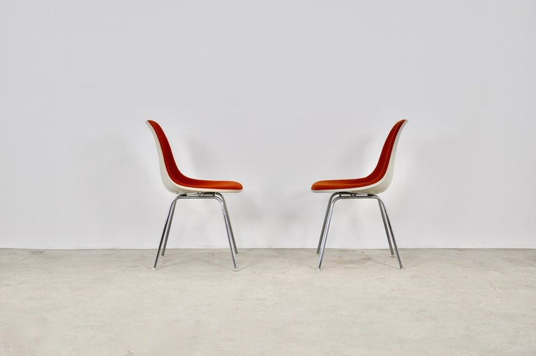 Dining Chairs by Charles and Ray Eames for Herman Miller, 1960S For Sale 1