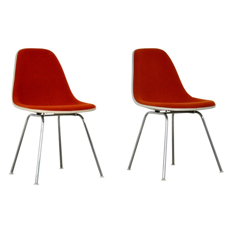 Dining Chairs by Charles and Ray Eames for Herman Miller, 1960S For Sale