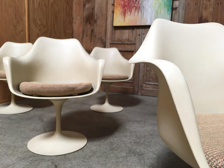 Dining Chairs by Eero Saarinen for Knoll Set of Six For Sale 6