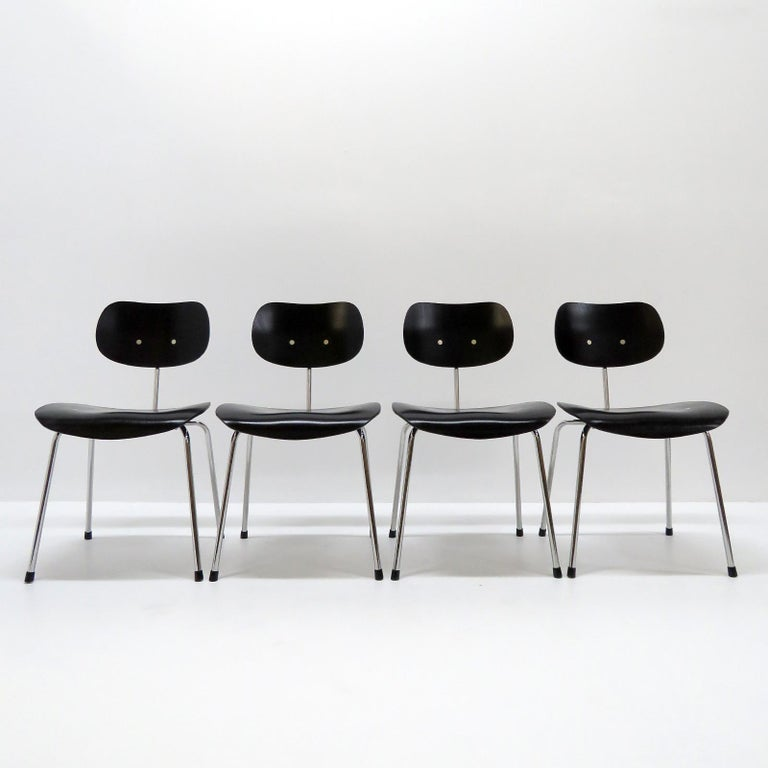 Dining Chairs by Egon Eiermann for Wilde & Spieth For Sale 3