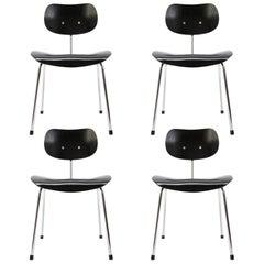 Dining Chairs by Egon Eiermann for Wilde & Spieth