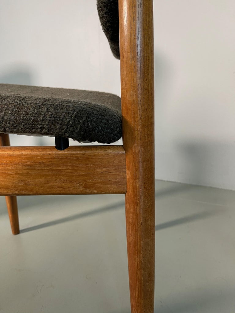 Dining Chairs by Finn Juhl for France & Søn, 1960s, Set of 4 For Sale 4