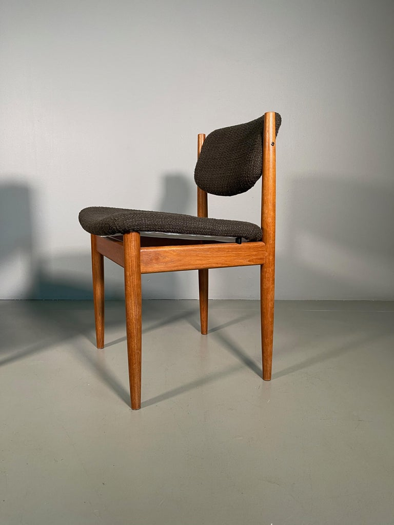 20th Century Dining Chairs by Finn Juhl for France & Søn, 1960s, Set of 4 For Sale