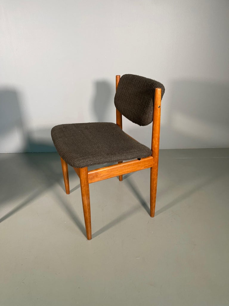 Teak Dining Chairs by Finn Juhl for France & Søn, 1960s, Set of 4 For Sale