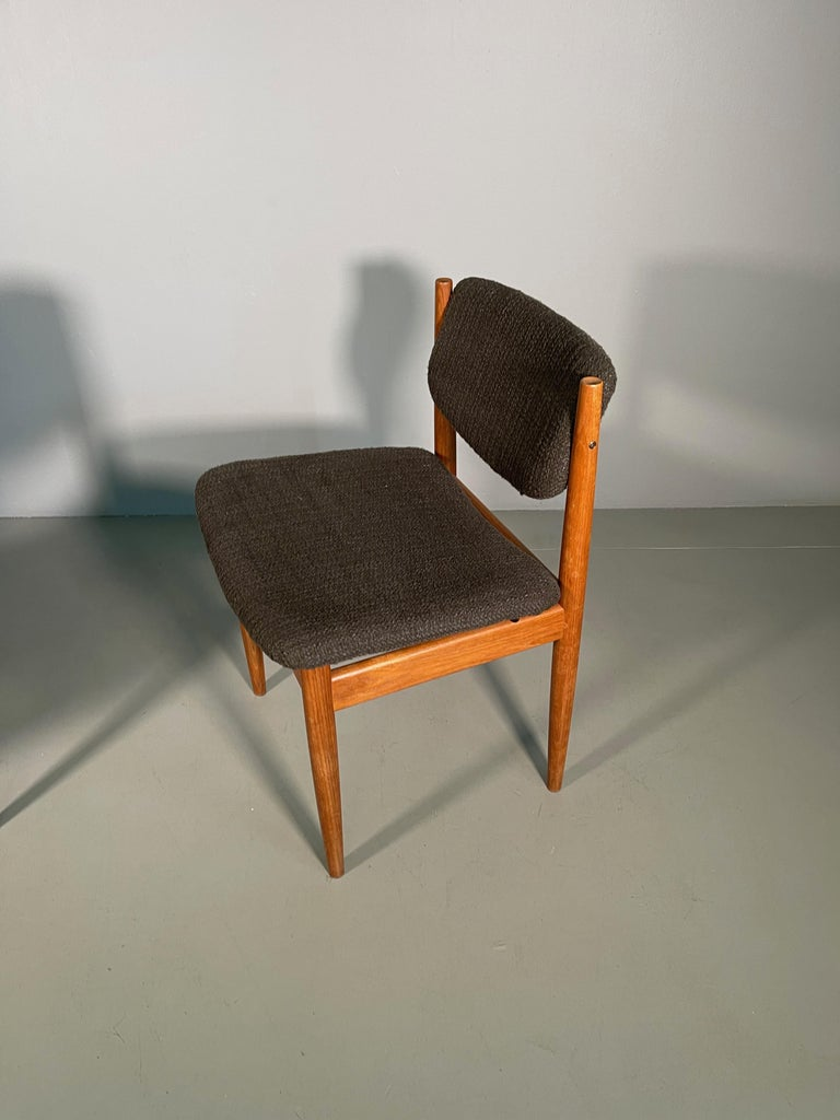 Dining Chairs by Finn Juhl for France & Søn, 1960s, Set of 4 For Sale 1