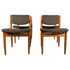 Dining Chairs by Finn Juhl for France & Søn, 1960s, Set of 4