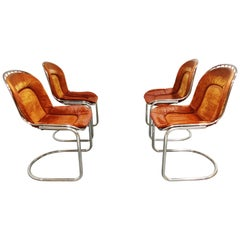 Dining Chairs by Gastone Rinaldi, 1970s