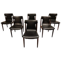 Dining Chairs by Inger Klingenberg for Fristho Set of 6, 1950s