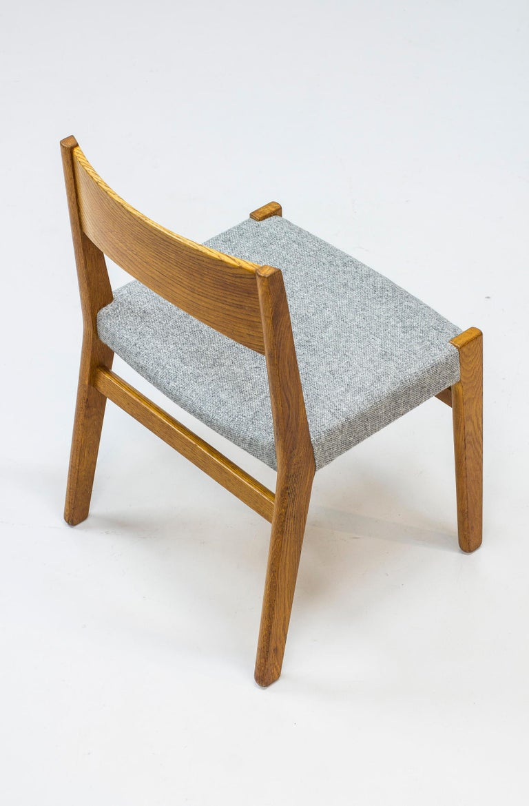 Mid-20th Century Dining chairs by John Vedel Rieper for Erhard Rasmussen, Denmark, circa 1957 For Sale