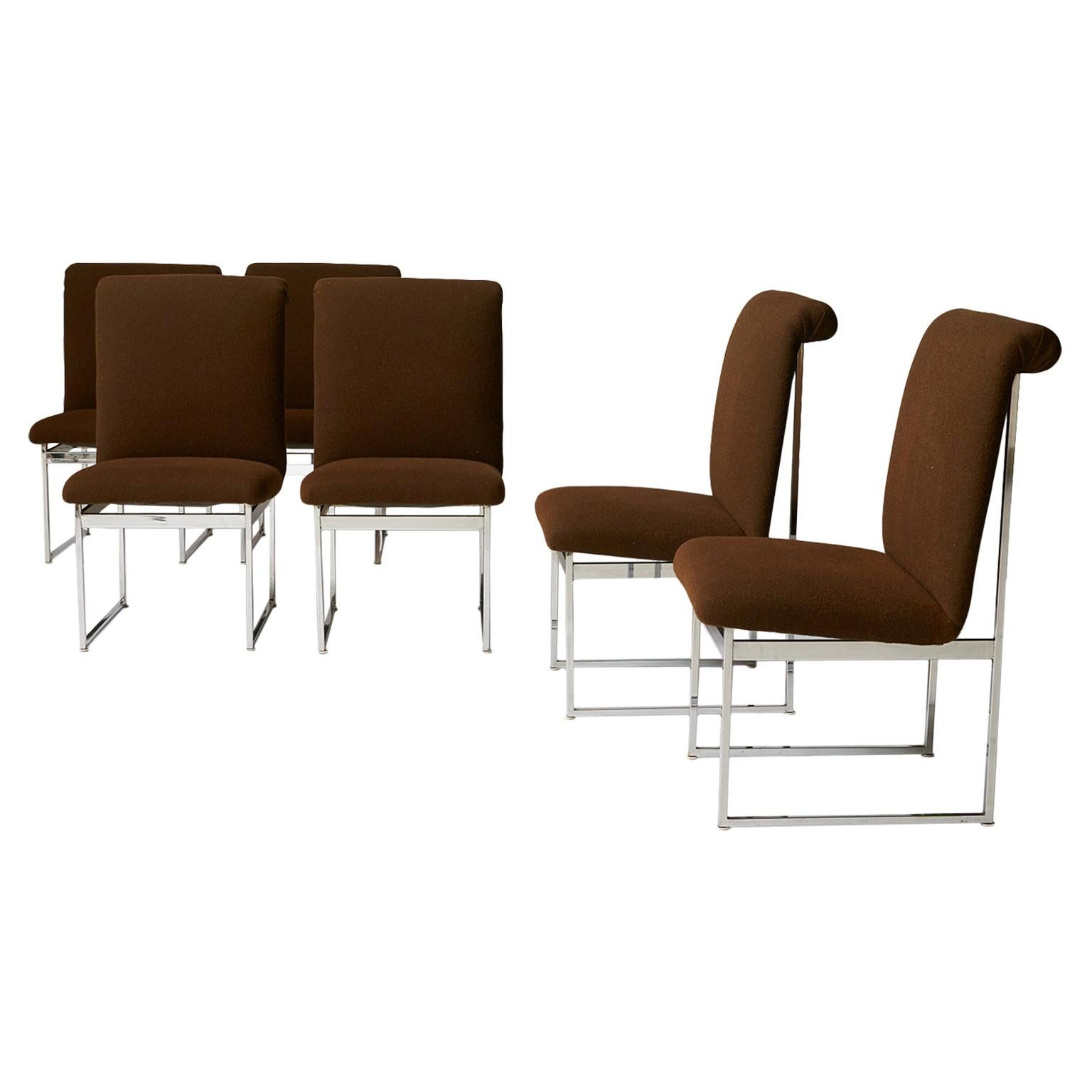Dining Chairs by Milo Baughman