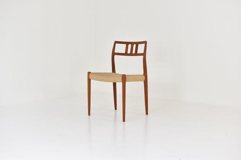 Scandinavian Modern Dining Chairs by Niels O. Møller for J.L. Møllers Møbelfabrik, Denmark, 1966