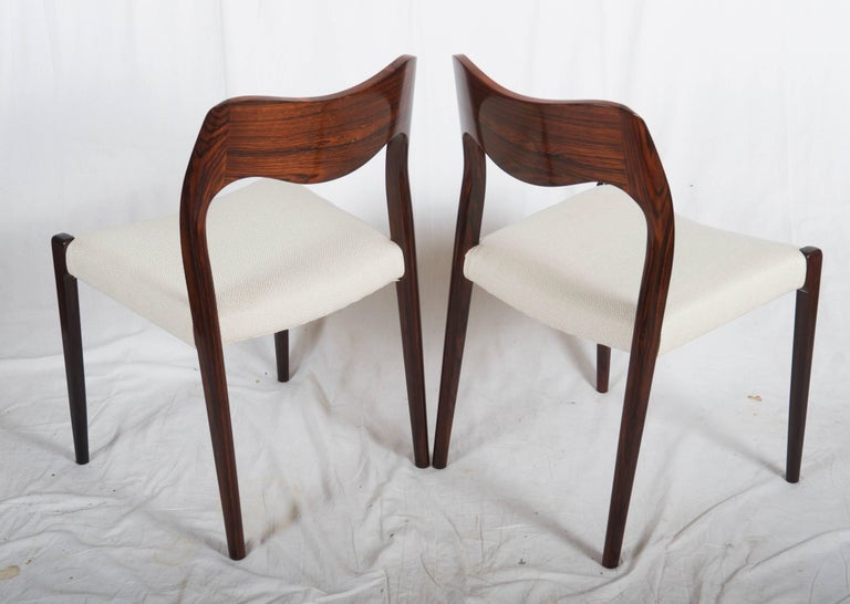 Dining Chairs by Niels Otto Møller Model 71 For Sale 3