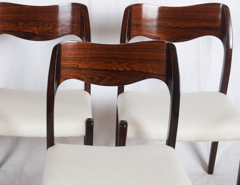 Dining Chairs by Niels Otto Møller Model 71 For Sale 2