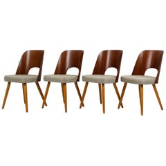 Dining Chairs by Oswald Haerdtl for Tatra, 1960s, Set of Four
