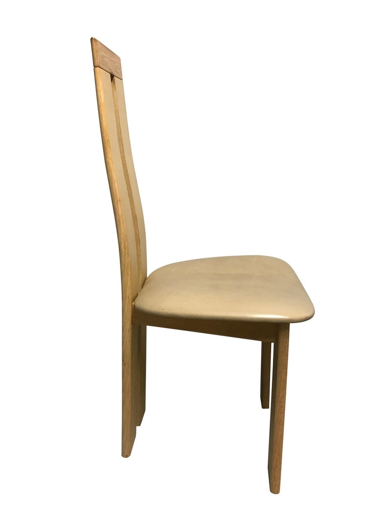 Late 20th Century Dining Chairs by Pietro Costantini for Ello, 1970s, Set of 6 For Sale