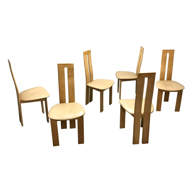 Dining Chairs by Pietro Costantini for Ello, 1970s, Set of 6 For Sale