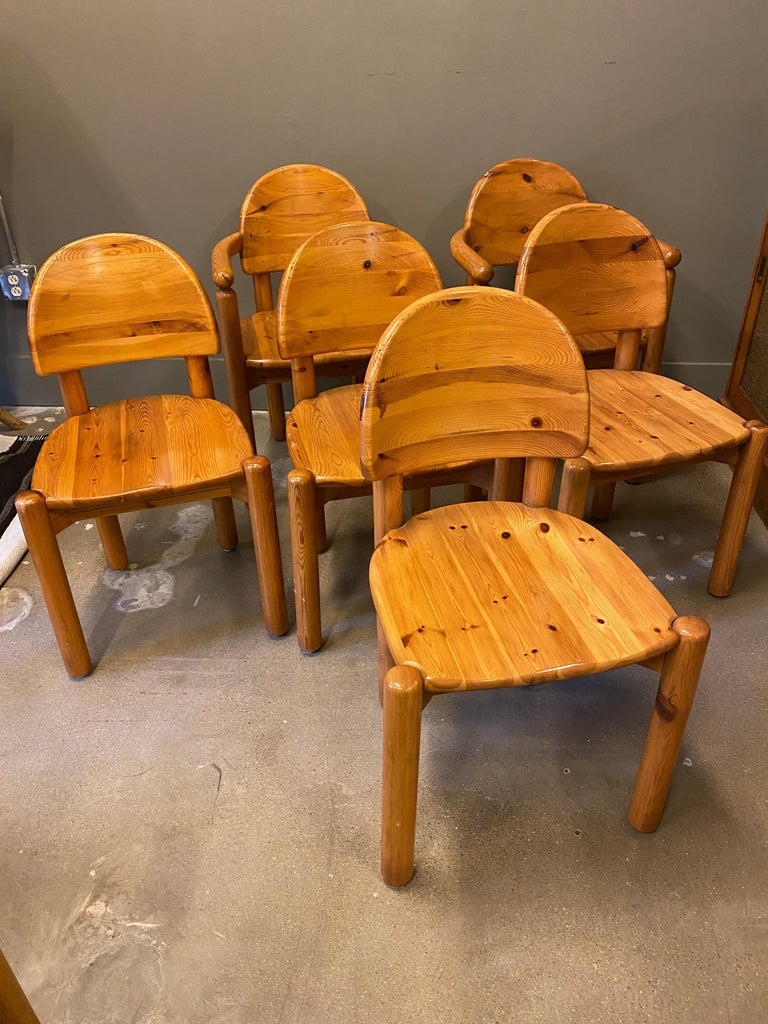 Dining Chairs by Rainer Daumiller for Hirtshals Sawmills, 1960s, Set of 6 For Sale 3